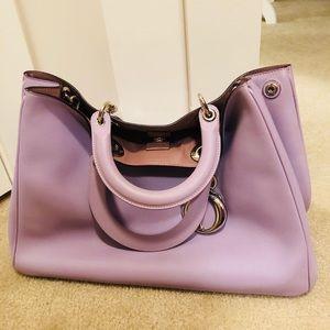 100% Dior Handbag |Limited Velvet Levander Color